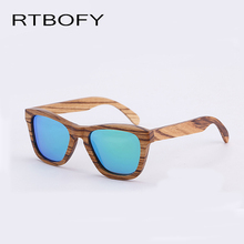 RTBOFY New 2017 Fashion 100% Handmade Wood Wooden Sunglasses Cute Design for Men Women gafas de sol steampunk Cool Sun Glasses