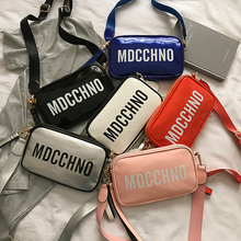 Women's Crossbody Bag High Quality Leather Small Shoulder Bag For Women 2019 Fashion Casual Color Messenger Bags Girls Handbags