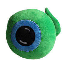 Hot Jacksepticeye Sam Plush Toy Doll Septiceye Green Eye Stuffed Toys 25cm