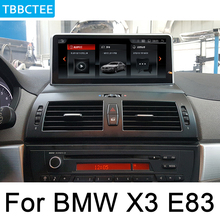 For BMW X3 E83 2004~2010 Car Android Multimedia Player Touch Screen Stereo Display navigation GPS Audio Radio Media 2 Din WiFi car radio 2 din gps android navigation for bmw x3 e83 2004 2010 idrive aux stereo multimedia touch screen original style