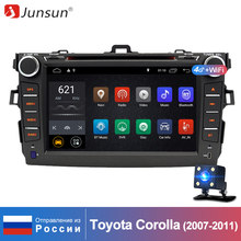 Junsun Android 8.1 RAM 2GB 2 Din Car Multimedia Player For Toyota Corolla 2007 2008 2009 2010 2011 DVD Radio Gps Naviagtion WIFI(China)