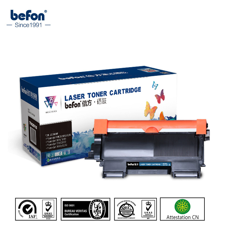 befon for Brother Toner Cartridge TN450 TN 450 HL2130 TN2225 + DR2250 set for DCP-7055 7055 2130 2240 2250 2270