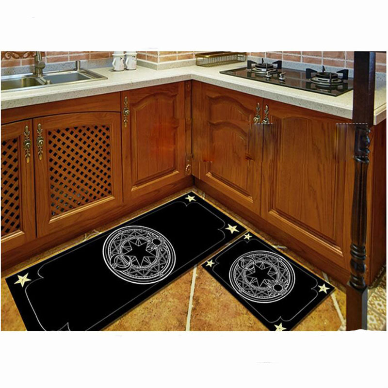 2pcs Modern Kitchen Mat Anti Slip Floor Rugs Living Room Balcony Bathroom  Carpet Set Doormat Bath Mats Bedroom Mattress Tapete In Mat From Home U0026  Garden On ...