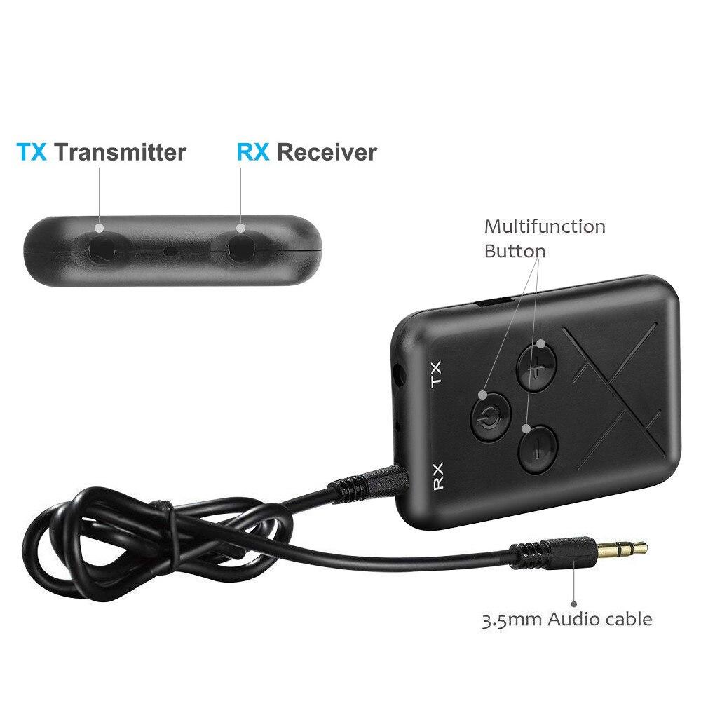 Tragbares Audio & Video Neueste Kollektion Von 2in1 Bluetooth 4,2 Sender Und Empfänger Stereo Audio 3,5mm Adapter Musik Usb Musik Aux 3,5mm Für Verstärker Lautsprecher Headset Funkadapter