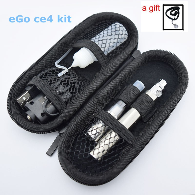 Sub Two e cigarette eGo ce4 Starter kit with 1.6 ml tank ego battery zipper case ego ce4 vape pen kit vaporizer