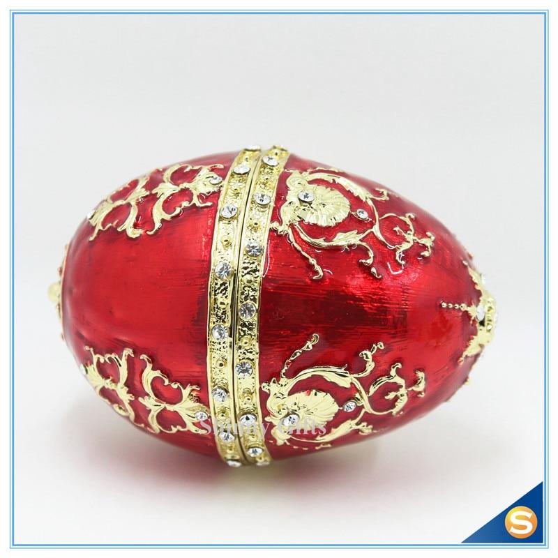 Die Petroika Larissa Metall emaillierte Ei Ostern und Ostern - Wohnkultur - Foto 3