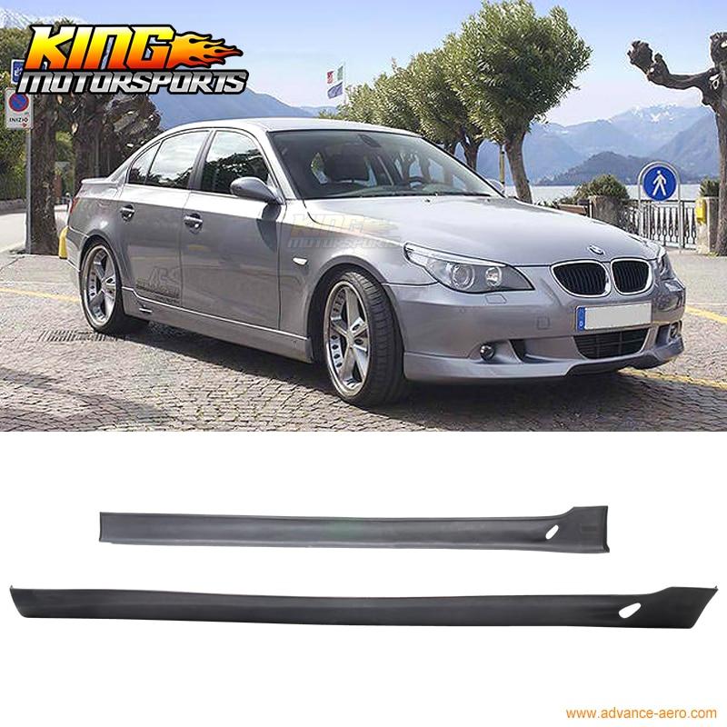 06 07 08 BMW E90 4DR SEDAN AC-S STYLE SIDE SKIRT BODY KIT POLY URETHANE