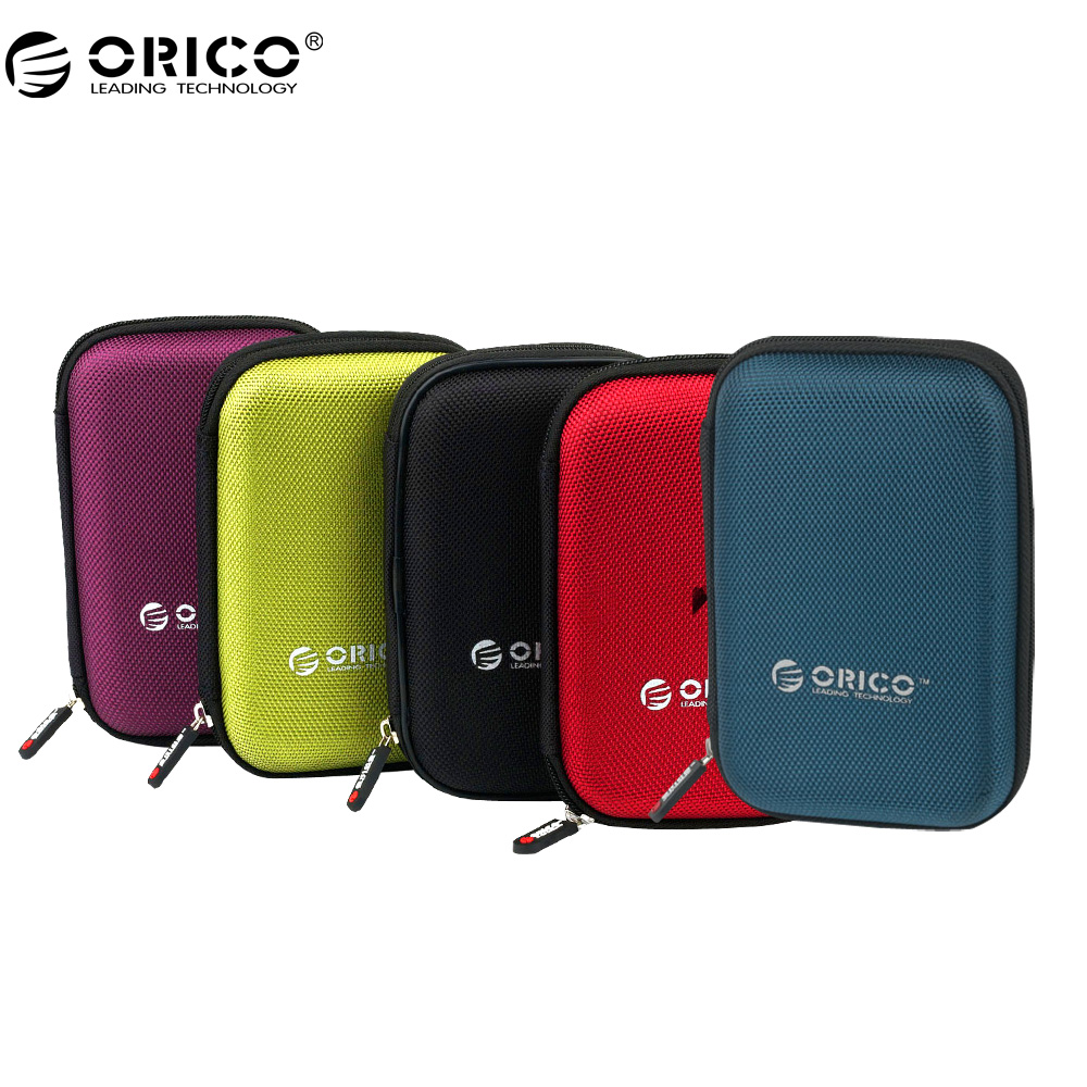 ORICO PHD-25 2.5 inch Portable External Hard Drive Protection Bag Dual Buffer Layer HDD Protector Case- Black цена