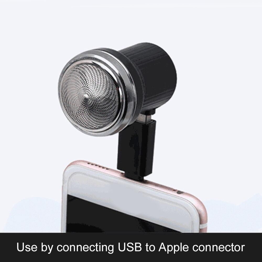Портативная электробритва с щеткой для очистки, USB Power Three Blade, Мужская модная Бритва для личной гигиены, красивая