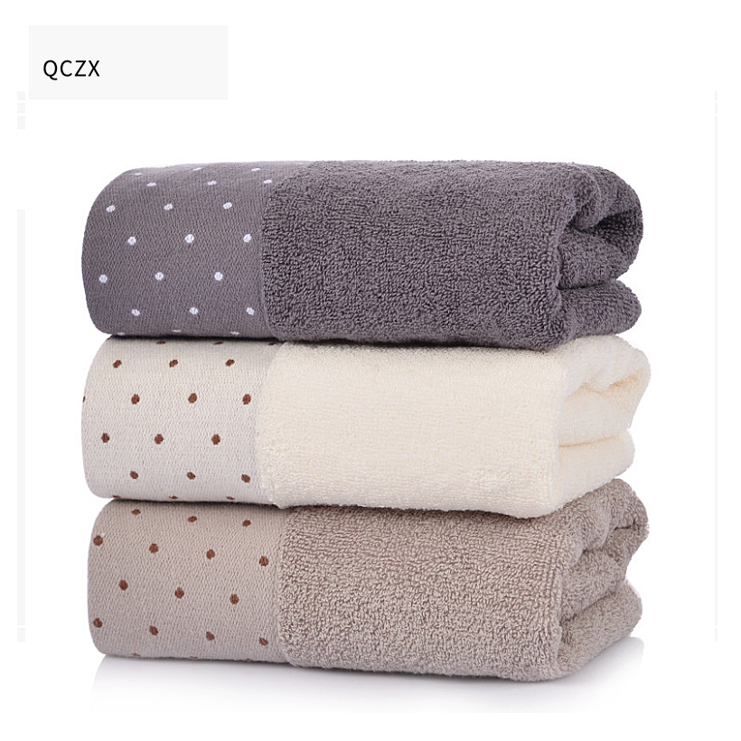 Aliexpress.com : Buy QCZX 100% Cotton Towels Thick