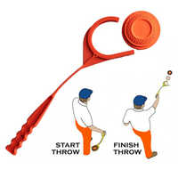 Clay Hand Target Untouched Thrower Arm Swing Throwing Hunting Shooting Essential Hunting Accessories High QualityNew