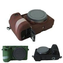Хороший мягкий силиконовый резиновая защитный чехол кожи чехол для Sony Alpha A6500 камеры
