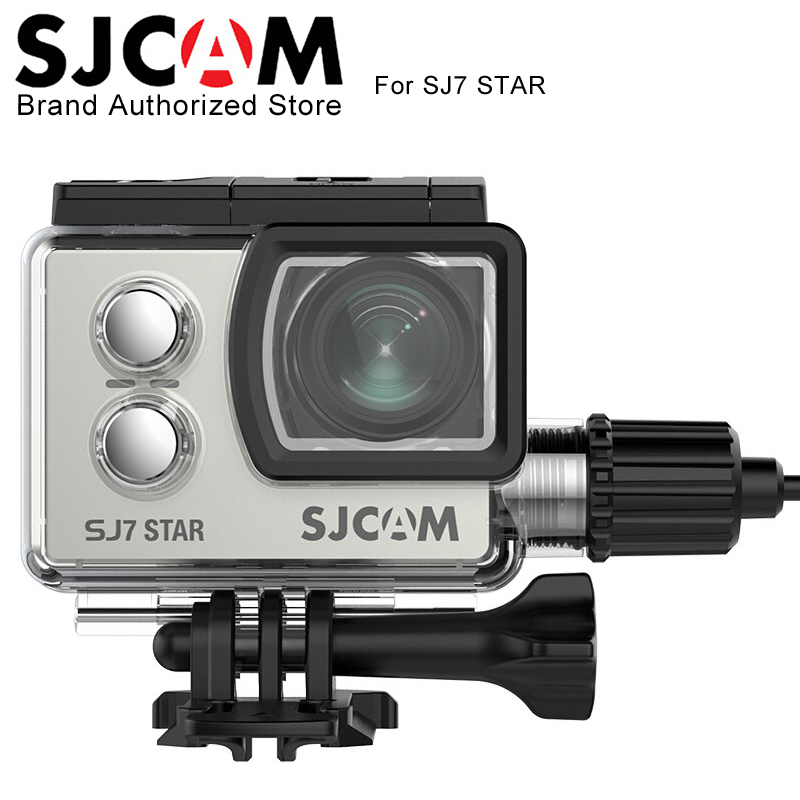 SJCAM Accessories Motorcycle Waterproof Case for Original SJCAM SJ7 Star Charging Case for SJCAM SJ7 Action