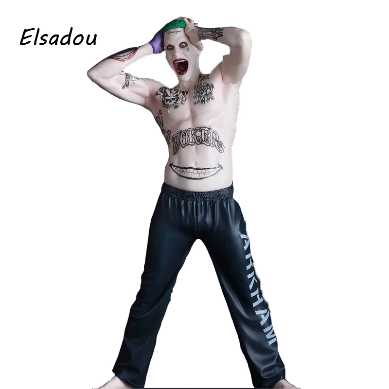 Elsadou 24cm Original Suicide Squad The Joker Action Figure Toy Doll Collectible Model 1 6 scale figure doll collectible model plastic toy terminator3 rise of the machines fembot t x 12 action figure doll