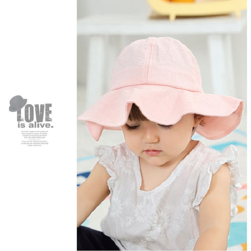 31e5ce277cc Detail Feedback Questions about Baby Vintage Style Summer Hat Girl s Cotton  sunhat with Butterflies Kids bucket hat Bucket hat for babies Babu Beach  Wear ...