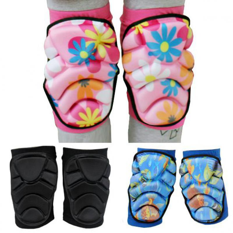 2pcs/set Men Women Boy Girl Safety Protection Knee Pads Protector Kneecap Kneepads for Scooter Cycling Roller Skating Skiing