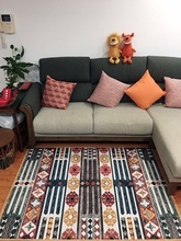 New Nordic Flamingo Printed Pure Cotton Carpet Children'S Baby Crawling Mat Bedroom Living Room Tea Table Tatami Mat Carpet flamingo print table mat