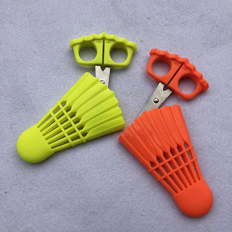 1pc Mini Badminton Shuttlecock String Tools Badminton Strings Scissors Fishing Rod Club Activities Sport Gifts Sport Decorations