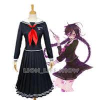 Danganronpa Dangan-Ronpa 2 Fukawa Toko Cosplay Kostüm Schuluniform kostüm