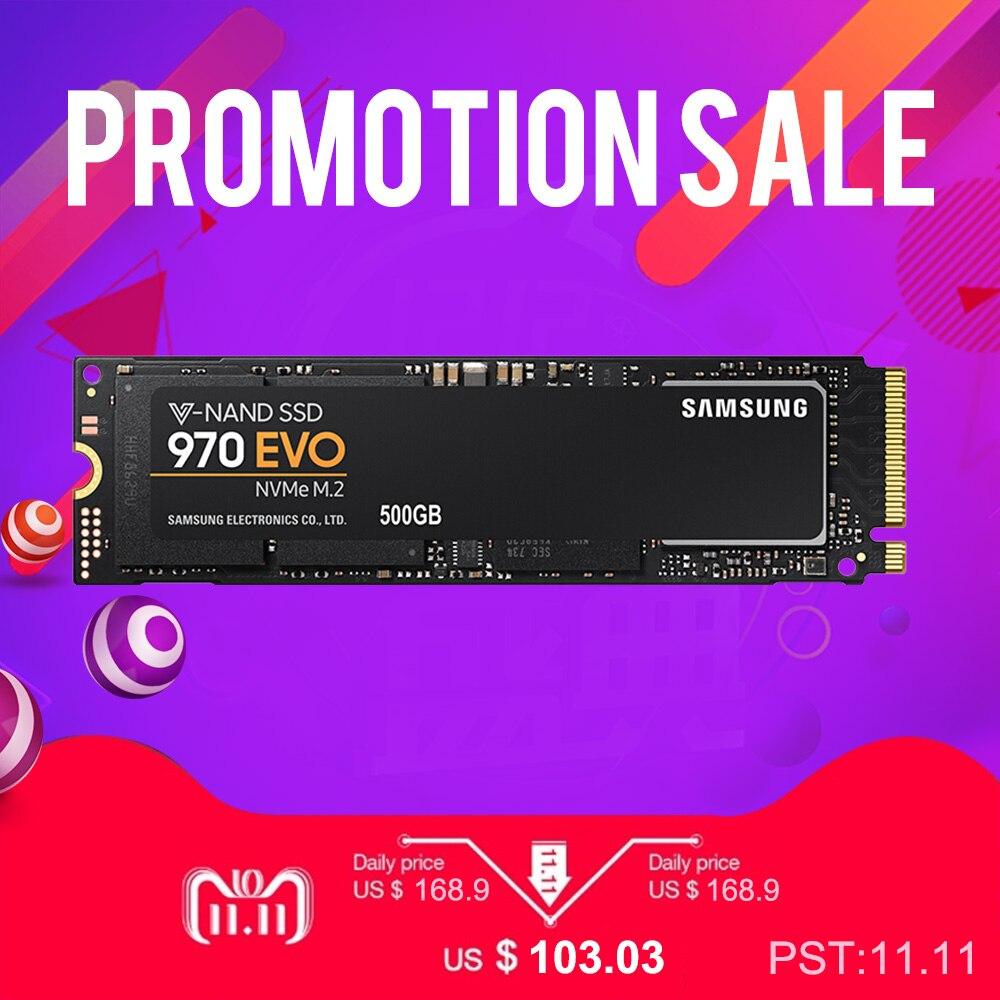 SAMSUNG 250 gb 970 EVO NVMe M.2 SSD Solid State disque dur HDD disco duro disque dur MLC 2280 PCIe 3.0x4 1.2 M2 250 gb