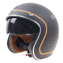 New arrival TORC T-57 motorcycle helmet retro helmet vintage open face helmet Halley half helmet moto 3/4 casco