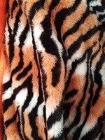 Tiger stripes plush faux fur vải, 1 cm đống cảm thấy, Bức Ảnh Nền vải, Xe trang trí mats, 150 cm * 50 cm/pc