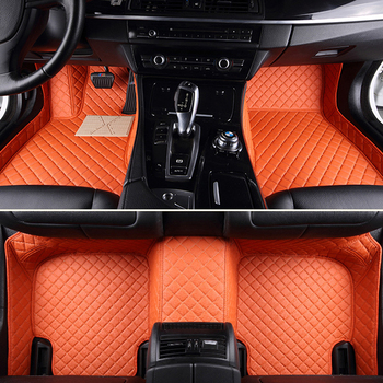 """Car floor mats special for Audi A4 B5 B6 B7 B8 allraod Avant A3 A6 C6 C7 A7 A8 Q3 Q5 Q7 5D car styling carpet rugs """