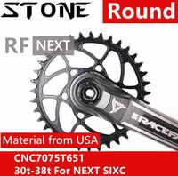 石チェーン rf ラウンド次 SL SIXC アトラス AEffect シンチ 30t 32 34 36 38T 歯 3.5 ミリメートルオフセット直接マウントチェーンホイール