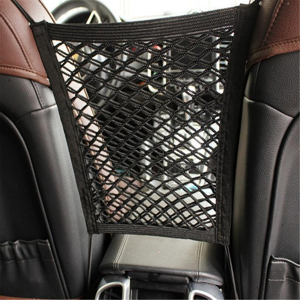 Car Styling Car Organizer Seat Back Storage Elastic Car Mesh Net For ACURA Legend CL TSX RSX ILX EL CSX RLX TLX ZDX SLX ...