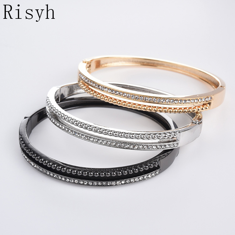 Risyh Fashionable and simple ladies bracelet Ultra flashing and multi-colored new bracelets
