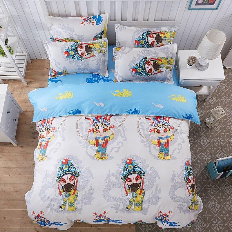 Venta caliente Simple dormitorio de dibujos animados para adultos niño Textiles