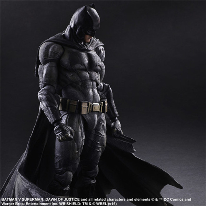 Batman Action Figures Play Arts Kai Dawn of Justice PVC Toys 270mm Anime Movie Model Heavily armored Bat Man Playarts Kai GS0167-in Action & Toy Figures from Toys & Hobbies    2