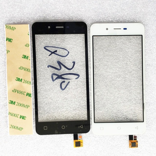 2 Color Touchscreen Sensor For Micromax Canvas Spark Q380 Touch Screen Digitizer Panel Front Glass