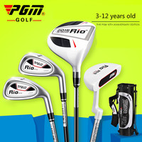 PGM Golf Club for Children Aged 3 12 Practicing Club with Bag JRTG004 RIO 2016