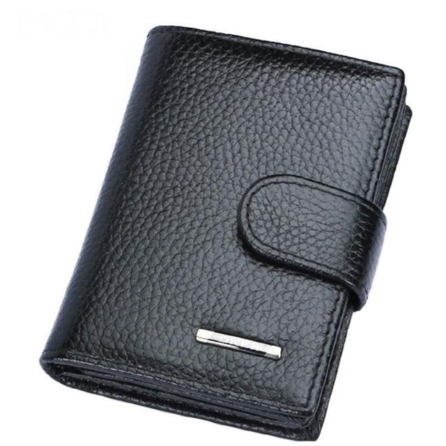 Dker high quality genuine leather men card holder fashion credit dker high quality genuine leather men card holder fashion credit card holder men wallet purse business colourmoves