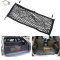 1pcs Rear Trunk 4 Loops Double Layers Envelope Style Cargo Net Sundries Storage Bag 90*30cm