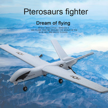 RC Airplane Plane Z51 Gliders 2.4G Flying Model with LED Bui