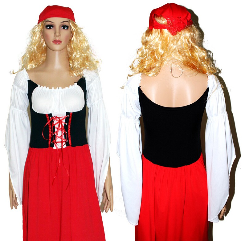 01aa0934642cd 2017 Oktoberfest Almanya Bira Carnaval Festivali Ekim Dirndl Etek Elbise  Önlük Bluz Kıyafeti Kostüm Kız Kadınlar Fantezi ElbiseUSD 26.99/piece