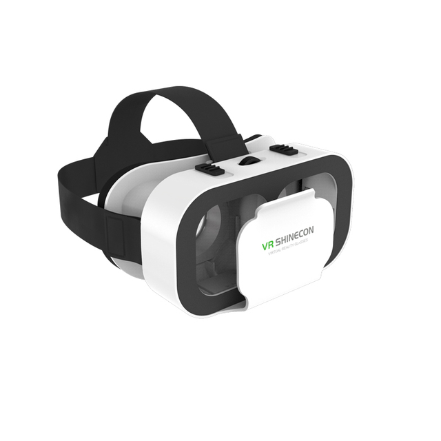 VR Shinecon G05A Casque Headset Virtual Reality Glasses 3D Helmet 3 D Google Cardboard For Smart Phone Smartphone Goggles Mobile 2