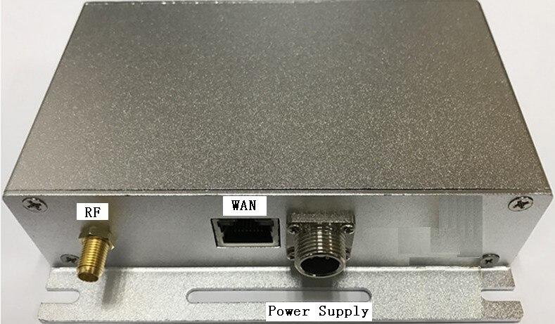 Sans fil lora capteur récepteur acquisition terminal de données température humidité capteur hub support port WAN sur PC
