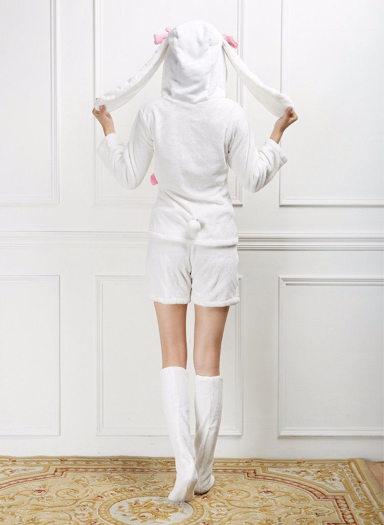 Details about  /Cosplay Costume Love Live Lovelive Kawaii Yazawa Niko Bunny Rabbit Pajamas
