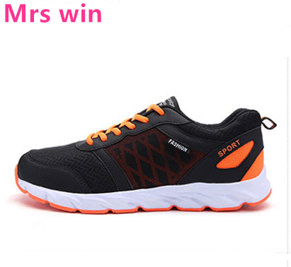 New Summer Outdoor Men Running Shoes Air Mesh Sports Shoes Breathable Trainer Light Non - Slip Sports Shoes Zapatillas Hombre