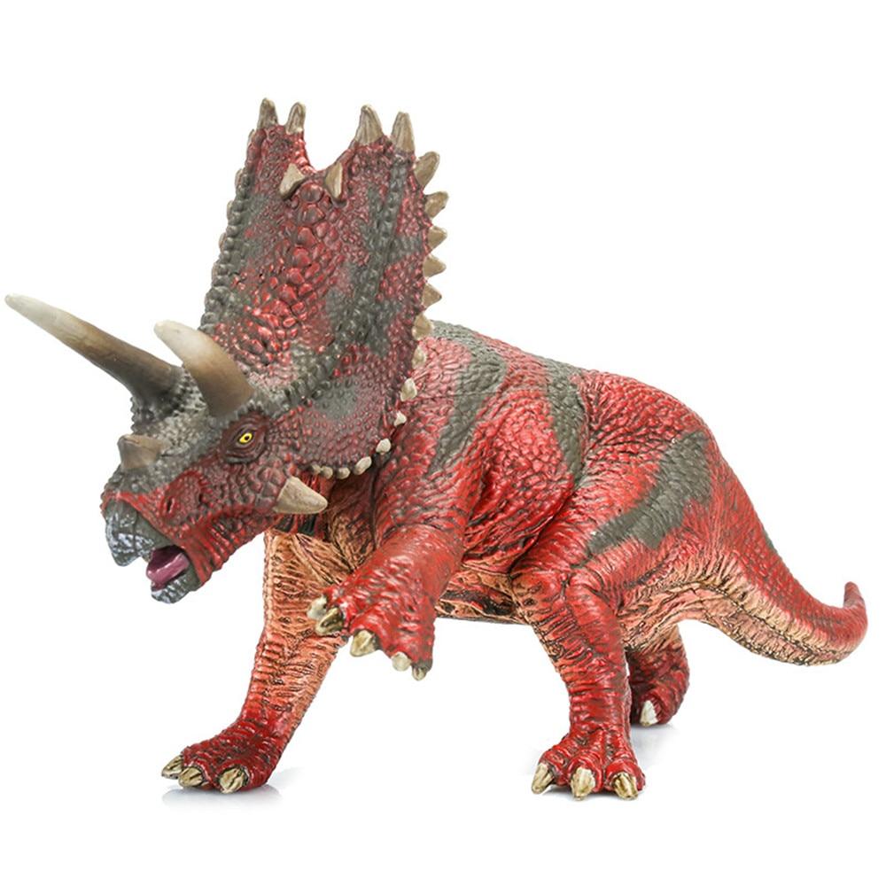 Pentaceratops Plastic Model Dinosaur Toys For Children Figures Boys Gift Kids Collection Decoration 18*7.5*11cm