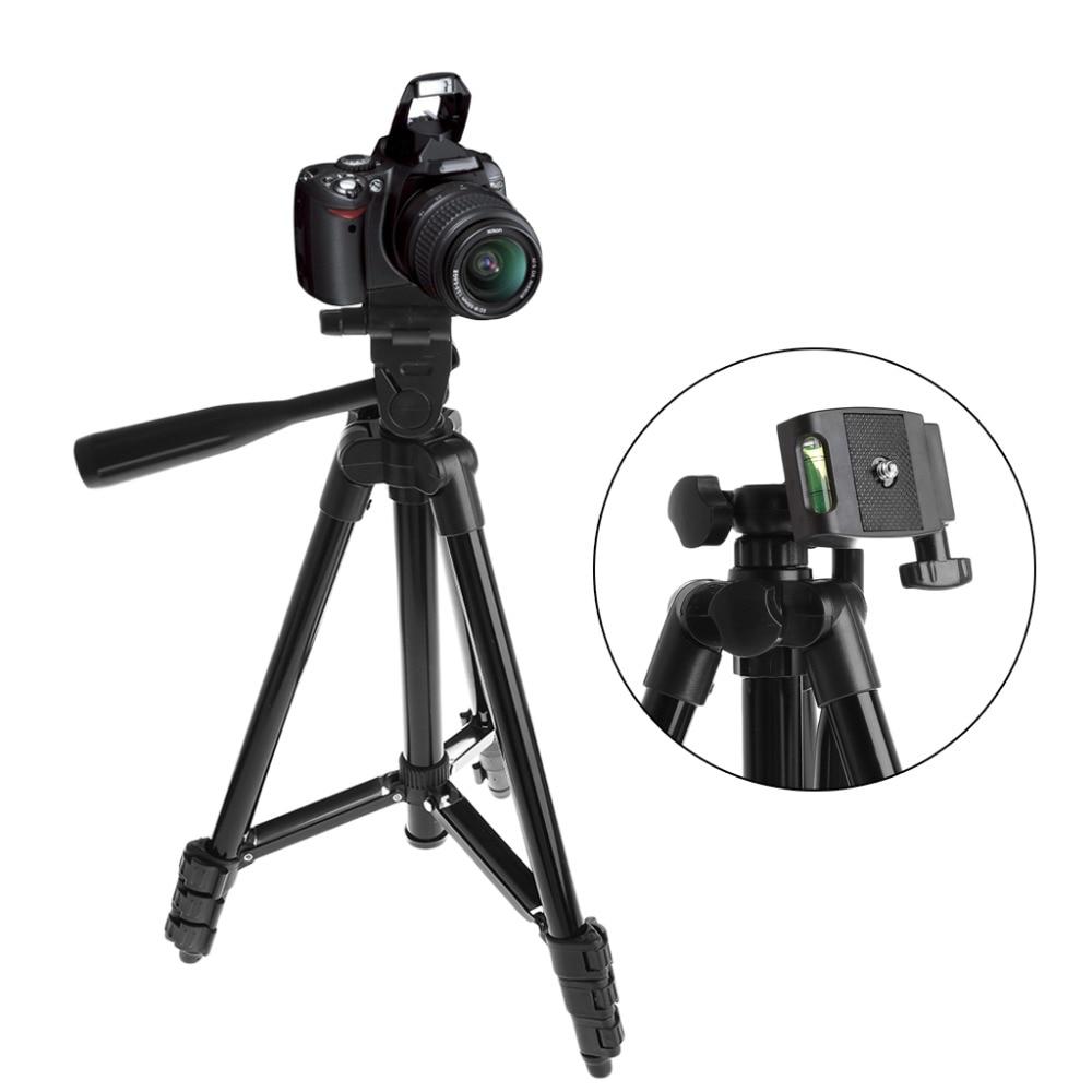 Universal Flexible Portable Aluminum Alloy DV DSLR Camera Tripod For Canon For Sony For Nikon Digital Cameras