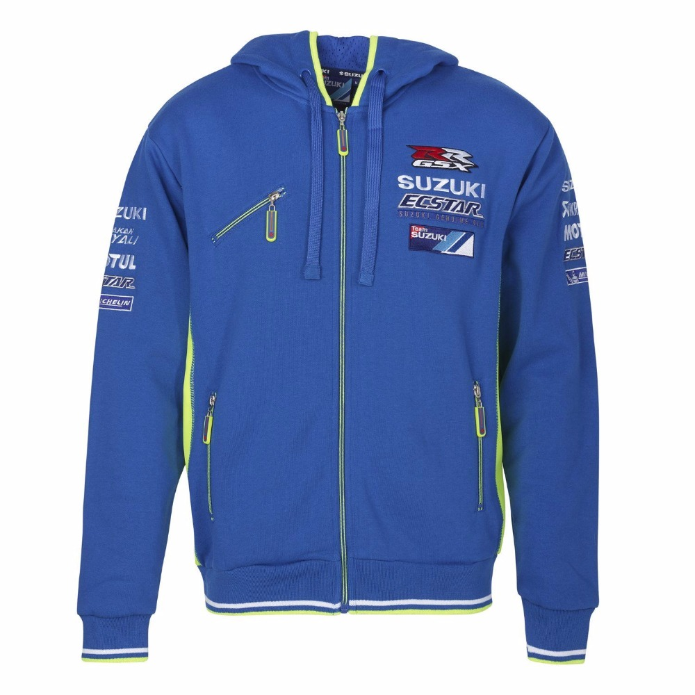 2018 Motogp Andrea Iannone 29 para Suzuki Team Hoodie GRX racing cremallera chaqueta moda encapuchado