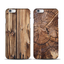 Bamboo Wooden Pattern Phone Cases Cover for iPhone