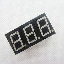 20 шт. 3bit 3 бит Общий Катод Цифровой Трубы 0.56 «0.56in. Красный светодиод Цифра 7 Сегмент