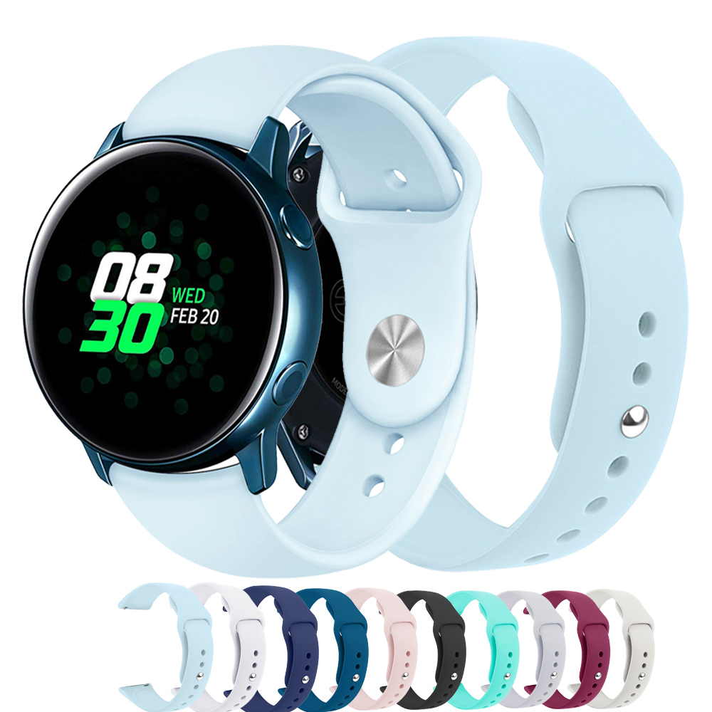 Galaxy Watch Active 2 band For Samsung galaxy watch 42mm Gear sport 20mm watch Strap amazfit bip Huawei Watch 2 pro Accessories image