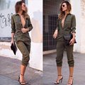 Hot New New Fashion Fomal Women Sex V-collar Clubwear Summer Playsuit Bodycon Party Jumpsuit  Romper Trousers