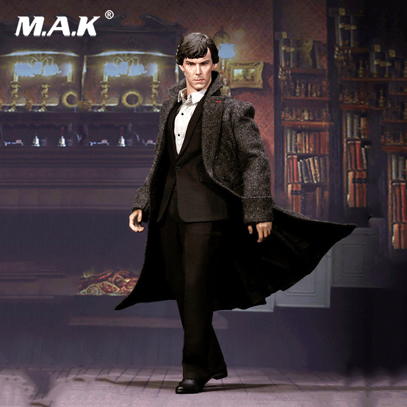For Collection 1/6 British Detective Sherlock Holmes Benedict Cumberbatch Action Figure toys for Collectors dayle a c the adventures of sherlock holmes рассказы на английском языке